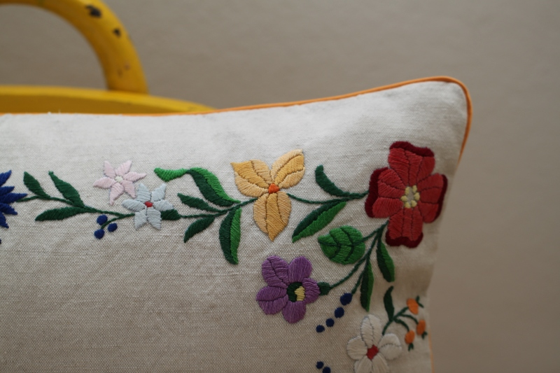 bylina studio repurposed pillow cover